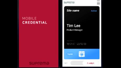 Karty mobilne na czytniki linii papilarnych i kart zbliżeniowych Suprema