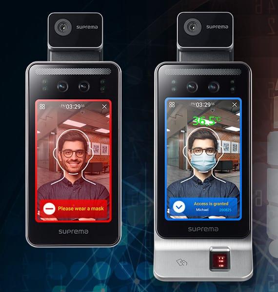Zewnętrzny bezdotykowy czytnik biometrii twarzy